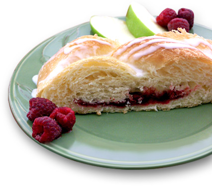 Raspberry Butterbraid