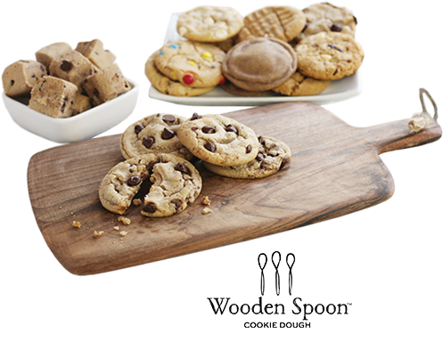 Wooden Spoon cookie dough